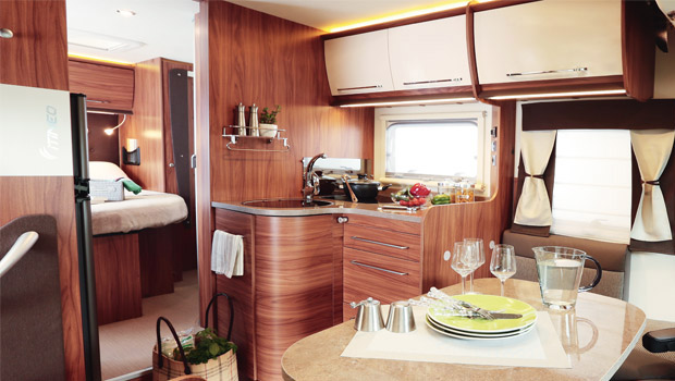 Prodej karavanů a obytných vozů